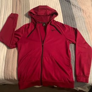 Men's red Nike Dri-Fit Sweatshirt